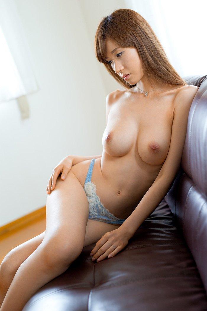 アラフォーの美しい熟女、林ゆな (6)
