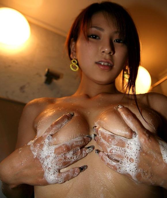 全裸に泡の組み合わせ (6)