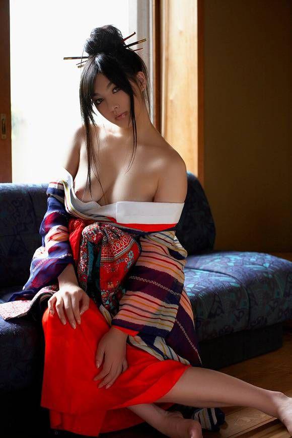和服から全裸 (17)