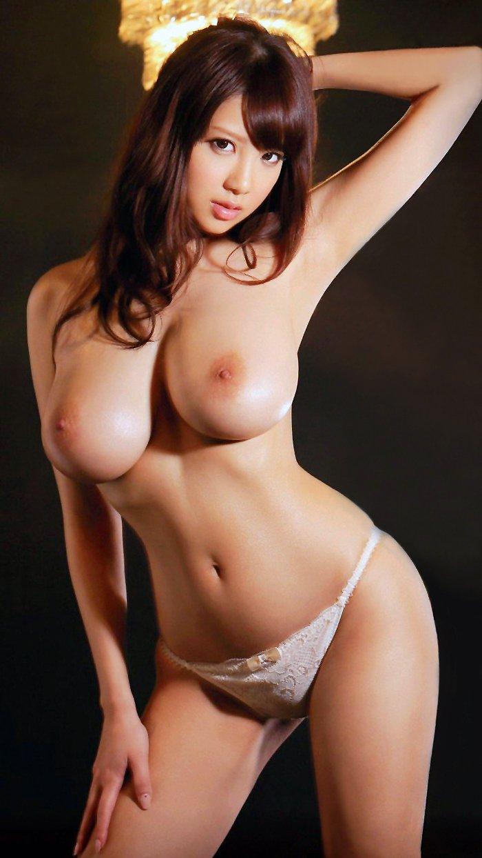 迫力ある巨乳の美女、RION (10)