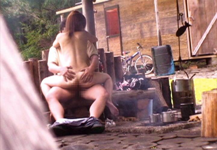 青姦してる男女を発見 (12)