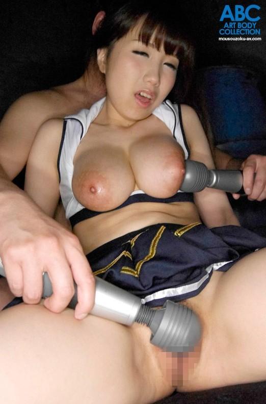 ちっちゃいボディにデカい乳房、濱口えな (6)