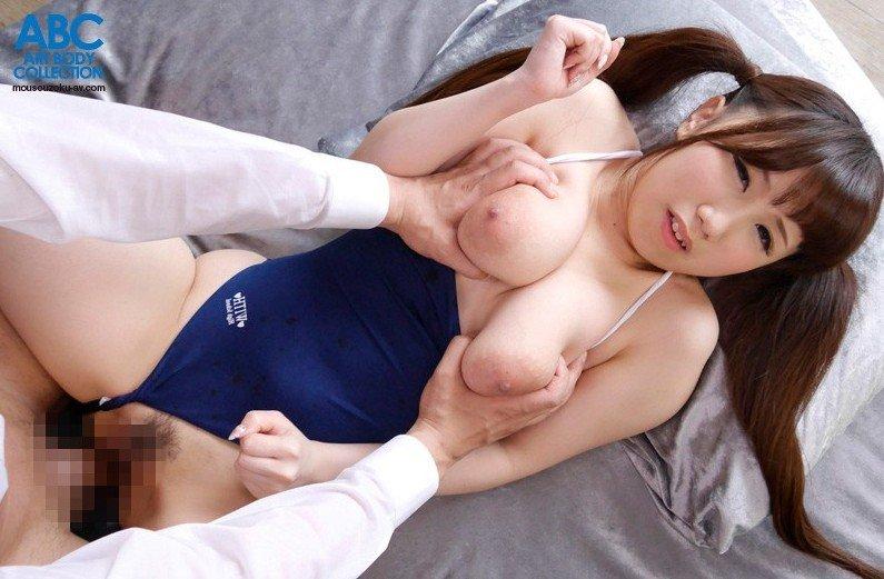 ちっちゃいボディにデカい乳房、濱口えな (12)