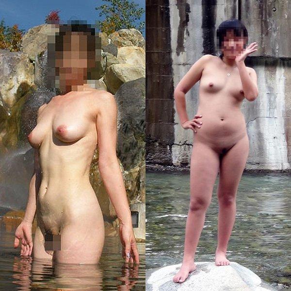 全裸記念写メ
