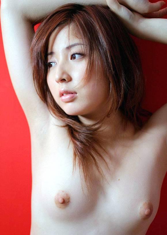 小ぶりだけど整った乳房 (3)