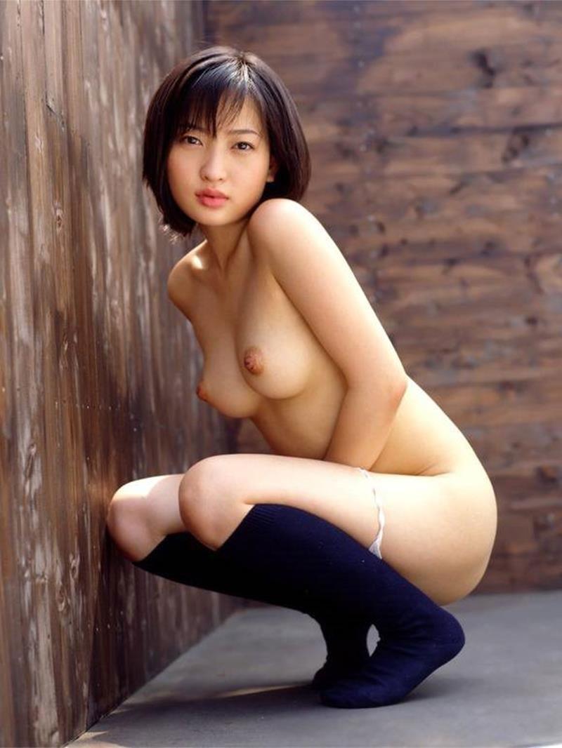 側面から眺めた乳房と乳首 (15)