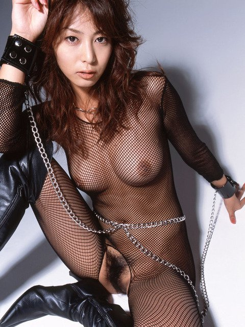 裸に網タイツの組み合わせがエロい (20)