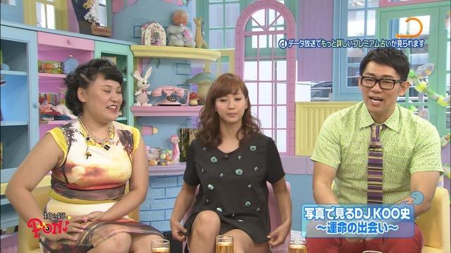 テレビで見せちゃったパンツがエロい (3)