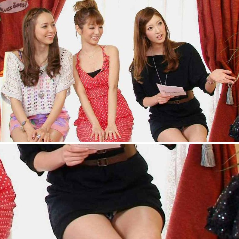 芸能人や女子アナたちが、TVでパンチラしてるハプニング