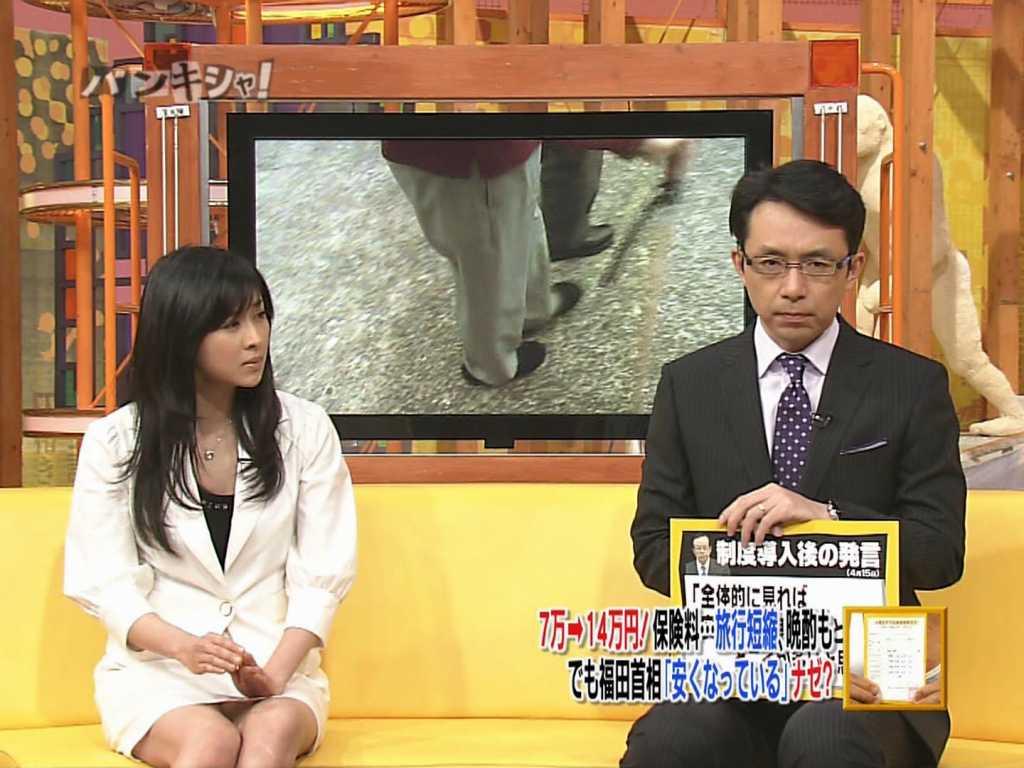 テレビで見せちゃったパンツがエロい (9)