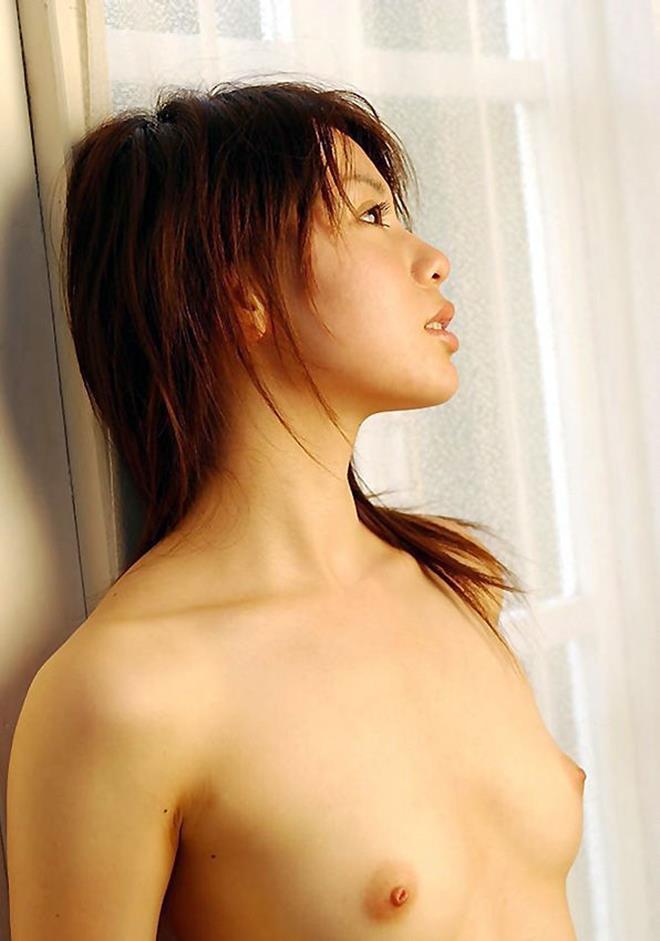 小さな乳房を優しく撫でたいオッパイ (2)