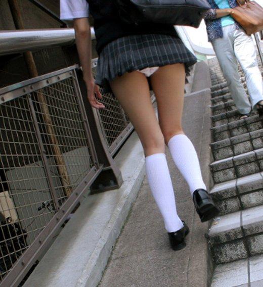 女子校生の健康的でセクシーな下着 (8)