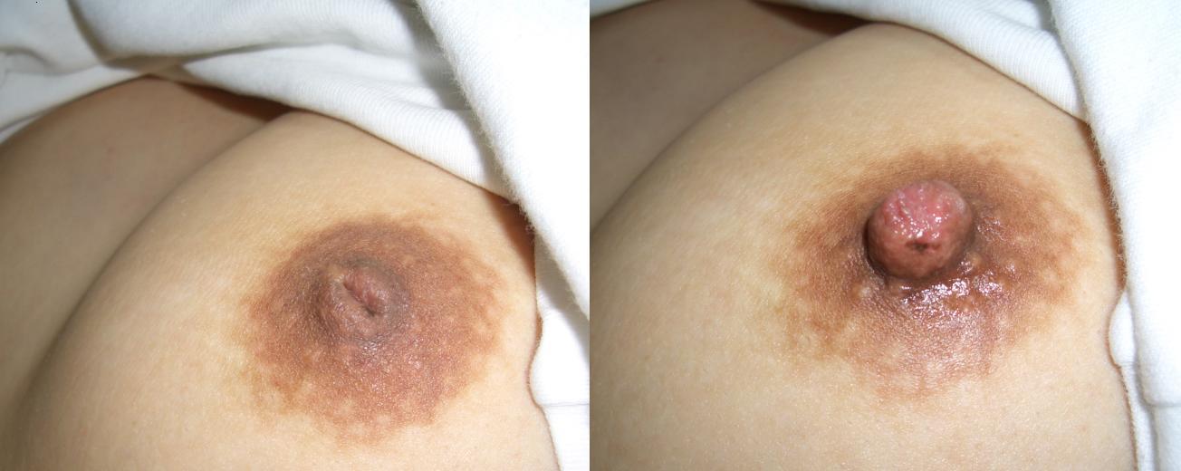 陥没している乳首って何だかエロい (10)