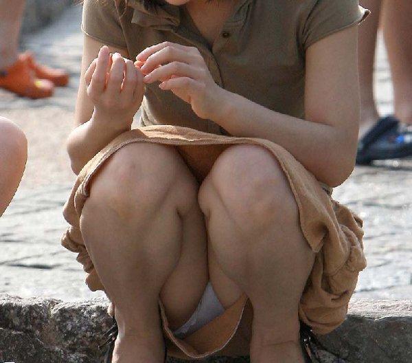パンツが見えている子を発見するとドキドキする (5)