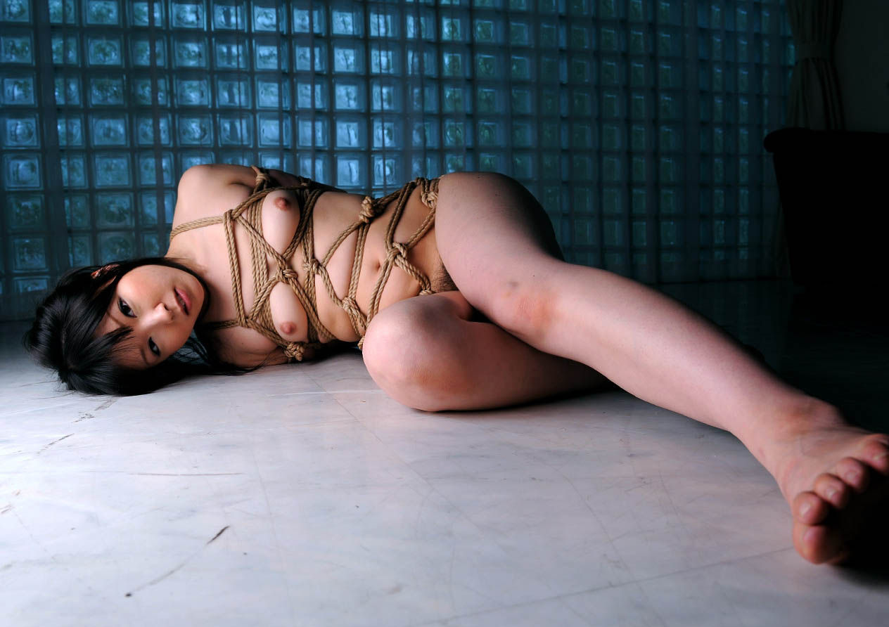 緊縛して弄んでみたい全裸女性 (7)