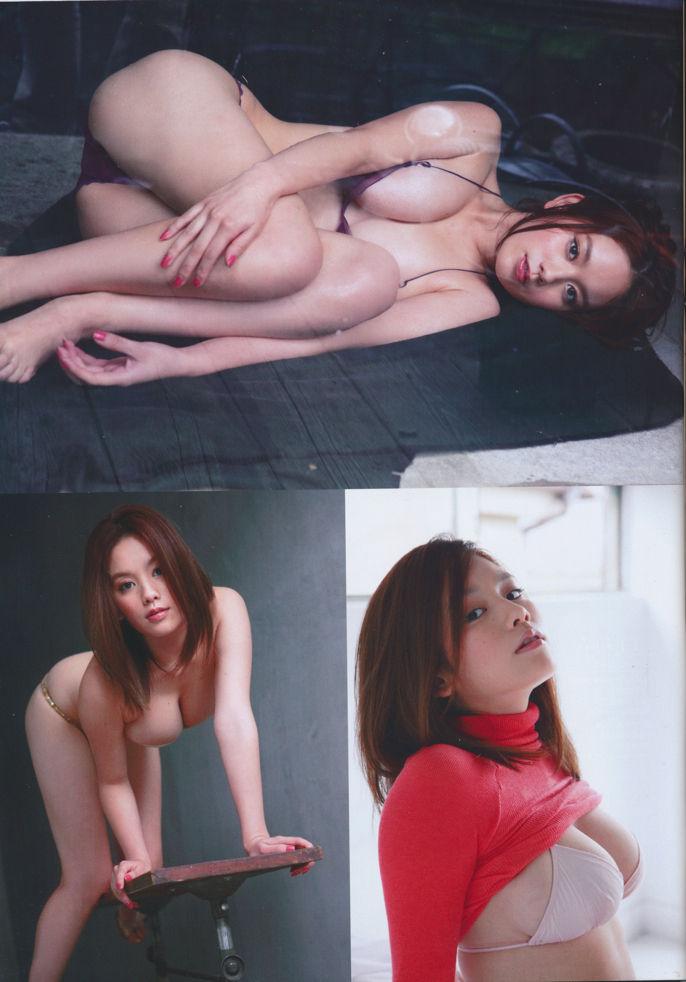 ギリギリまで脱いじゃった巨乳の筧美和子 (5)