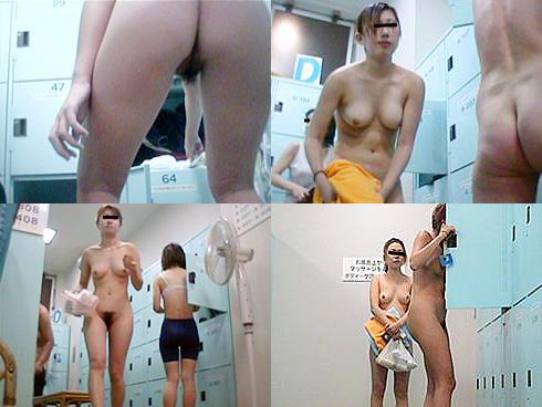銭湯で脱衣中の女の子って無防備だね (6)