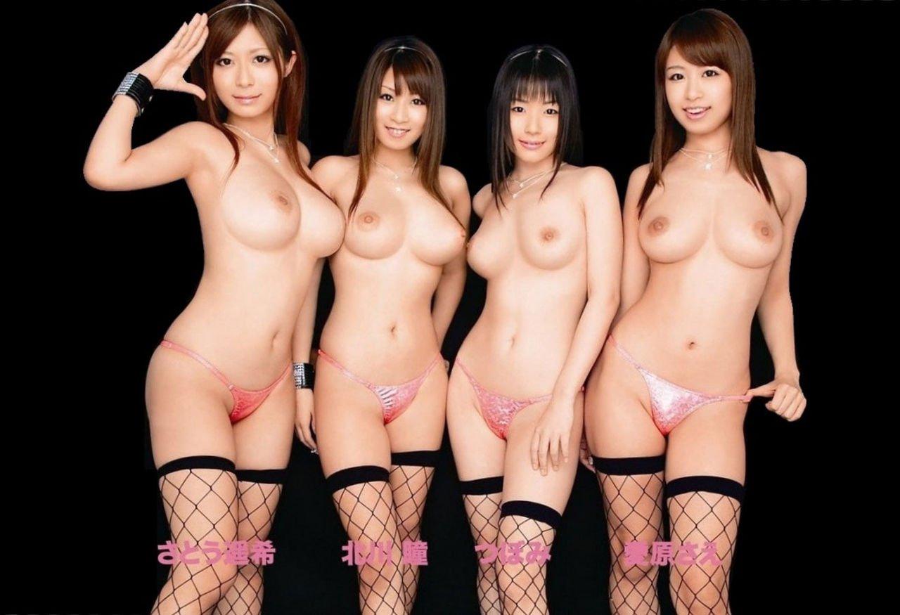 デカい乳房の女の子ばかりを集めると壮観な光景になる (15)