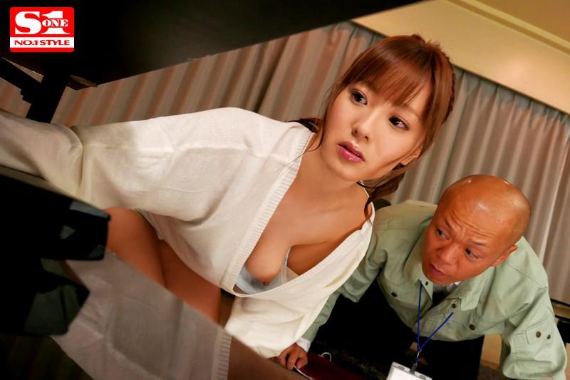 モデル体型の美女が豪快SEX、早乙女美々 (19)