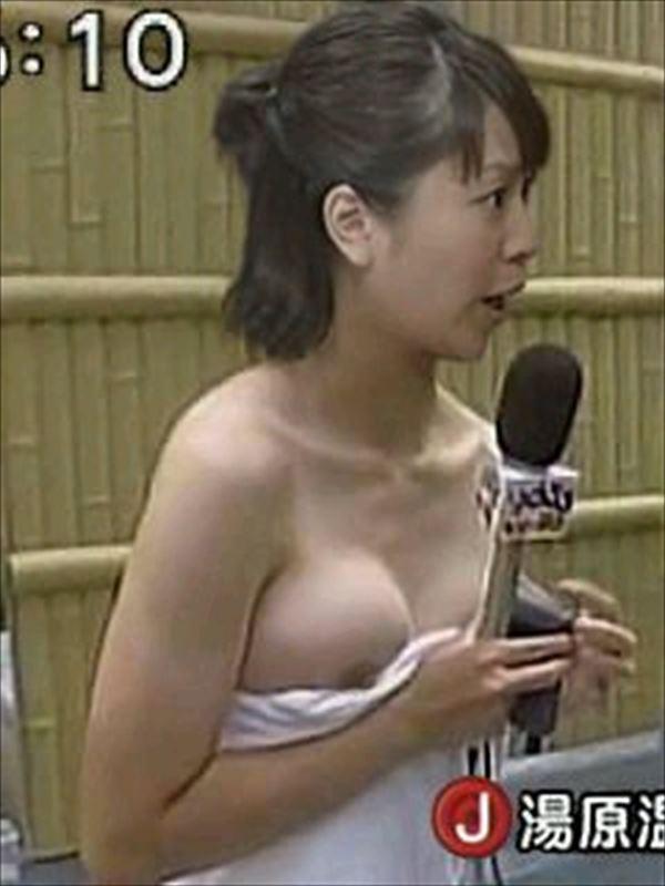 乳首や乳輪までポロリしちゃったTV番組 (16)