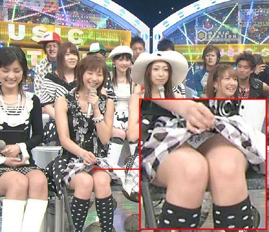 アイドルや女子アナたちが、TVでパンチラしたハプニング