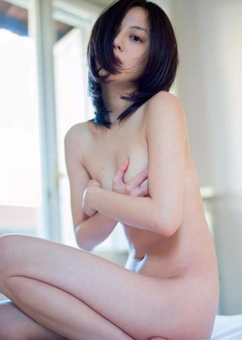 乳頭隠して乳房は出しちゃうアイドルたち (14)