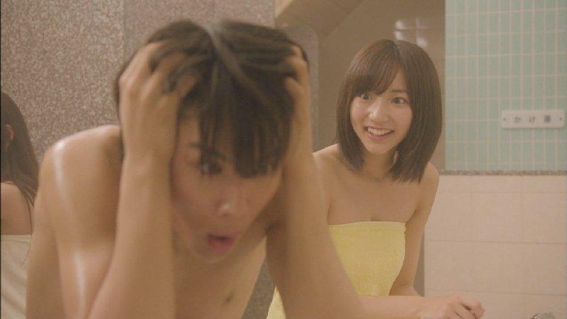 温泉や風呂に入るアイドルや女優がセクシー (13)