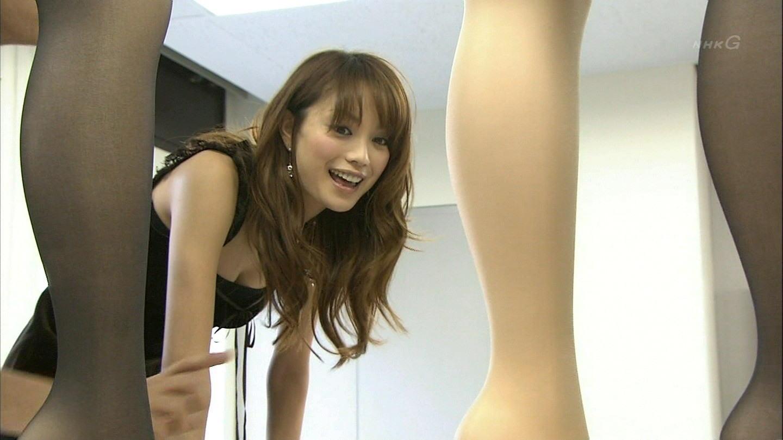 女優やアイドルがTV放送で見せたオッパイ (7)