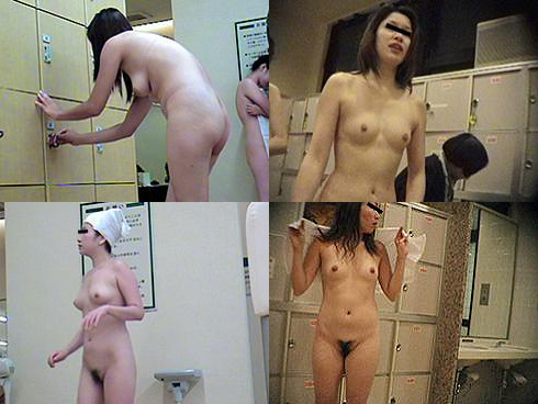 脱衣中の女の子集団を発見 (14)