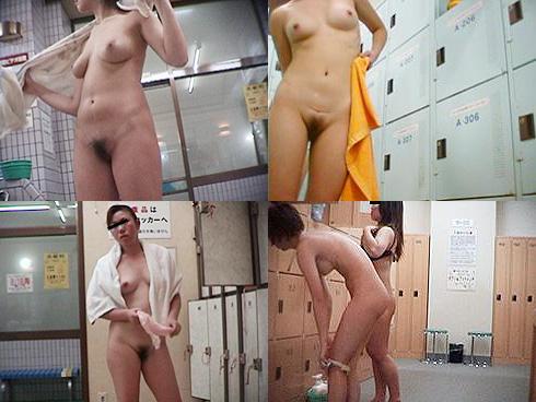 脱衣中の女の子集団を発見 (13)