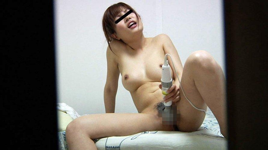 自宅でマスターベーションに耽る女の子 (9)