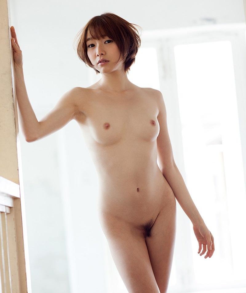 小さな乳房でもエロくて素晴らしい貧乳おっぱい (18)