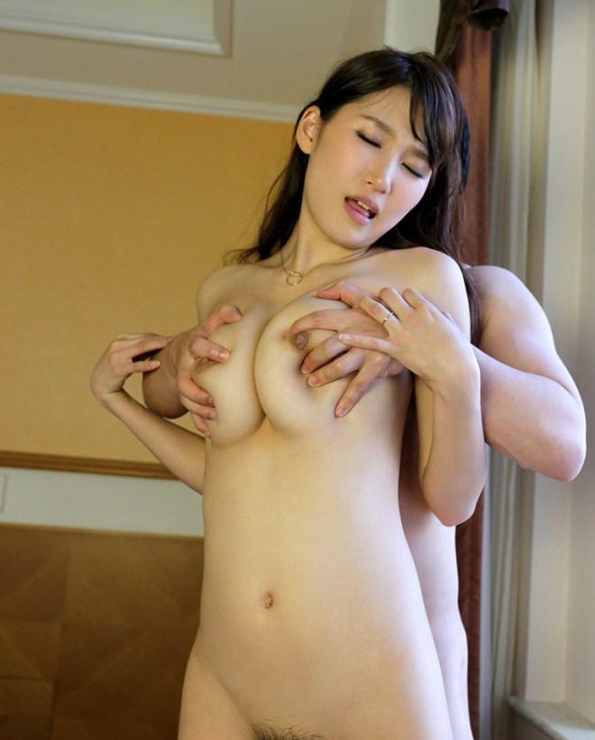 デカい乳房を揺らしてSEX、三原ほのか (11)