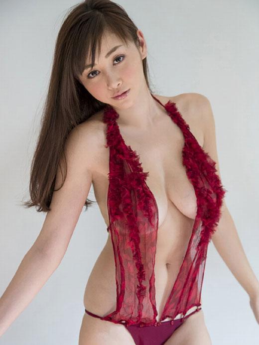 エッチな下着だけ着ている女の子 (19)