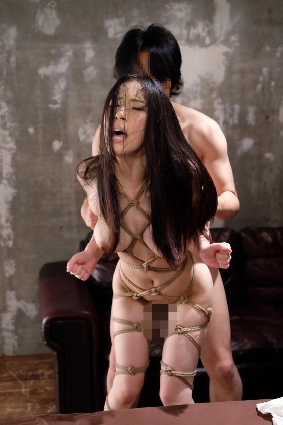 縄で縛ってハメちゃうSMプレイ (3)