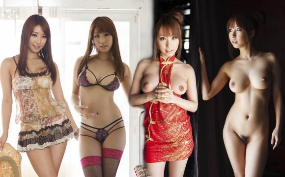 服を着ている状態から全裸になった姿まで (2)