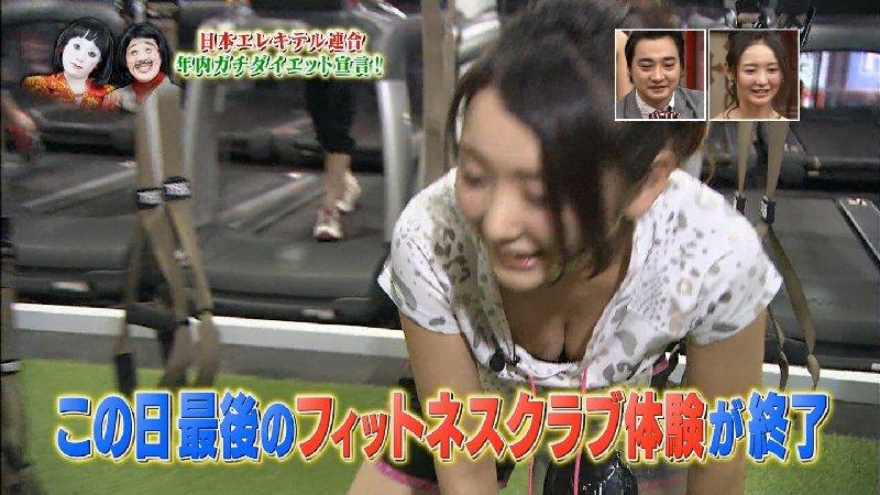 テレビで放送された芸能人の胸の谷間 (5)