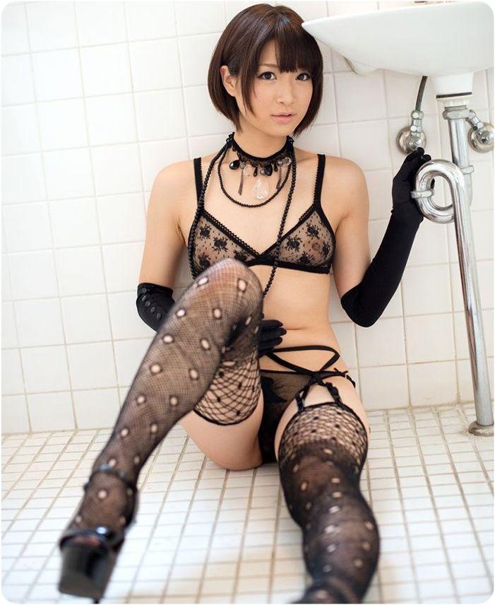 エッチな下着姿の女の子 (8)