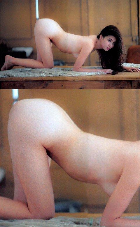 ほぼ全部脱いでるナイスバディな芸能人、橋本マナミ (19)