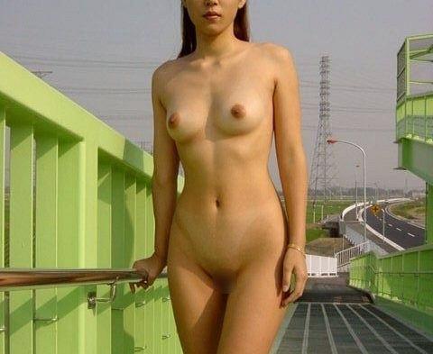 外出すると素っ裸になっちゃう変態さん (7)