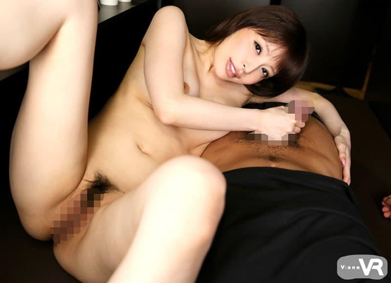 スレンダー巨乳の美女が激しくSEX、桜井彩 (7)