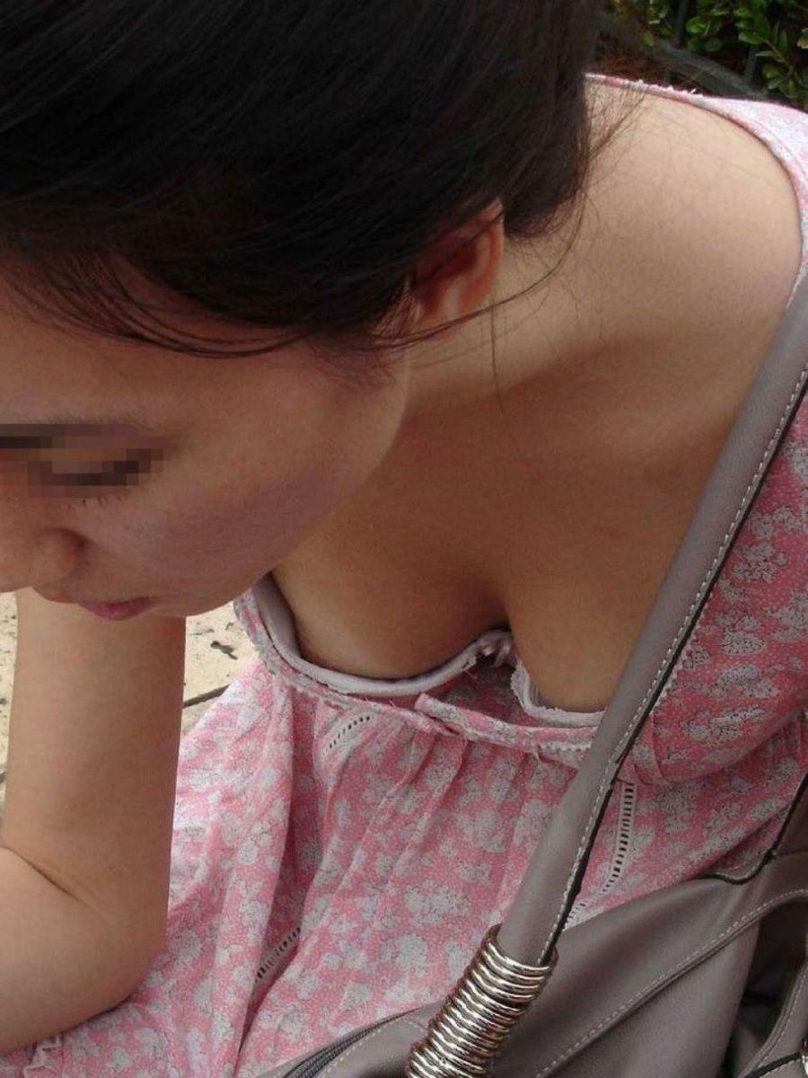 うっかり乳頭まで見せてしまった素人さん (18)