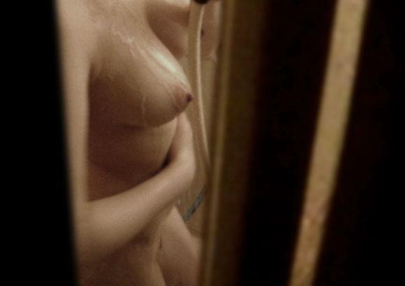 窓から見えた入浴中の裸 (7)