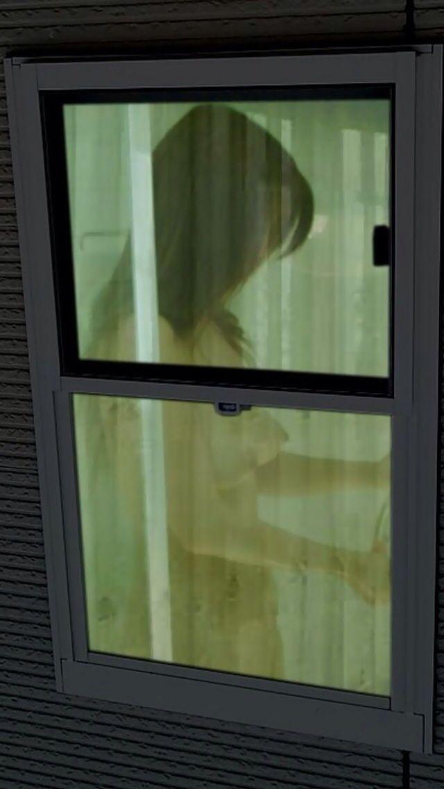 窓から見えた入浴中の裸 (8)