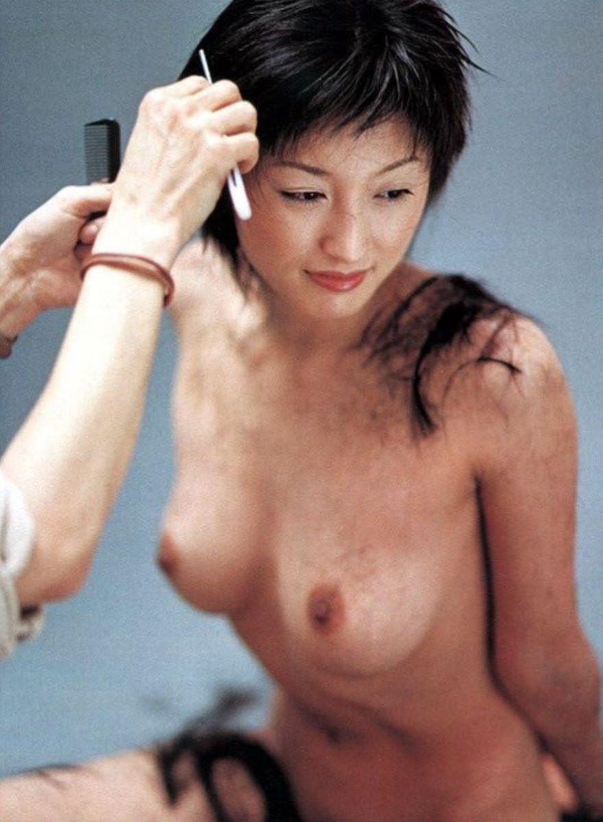 美しい芸能人の美しい乳首 (10)