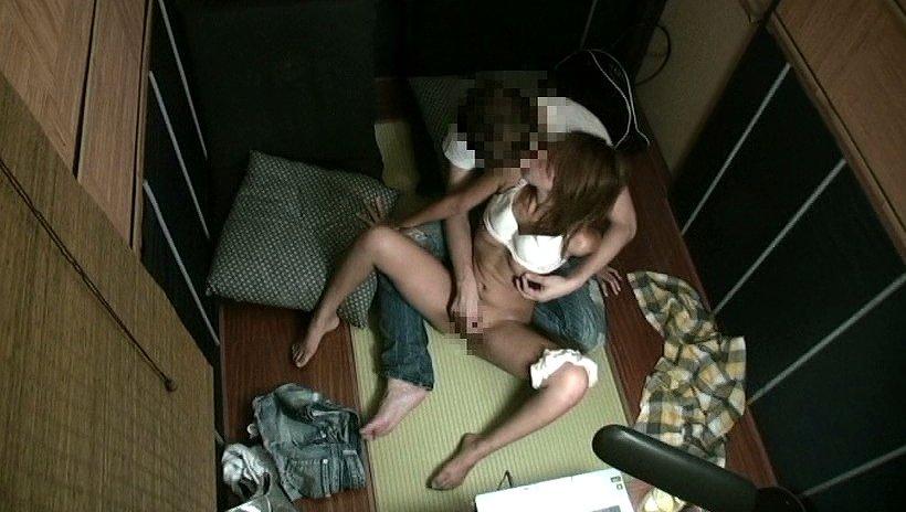 ネットカフェをラブホテル代わりに使う素人さん (16)