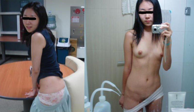 服を着た格好と素っ裸を比べてみた (19)