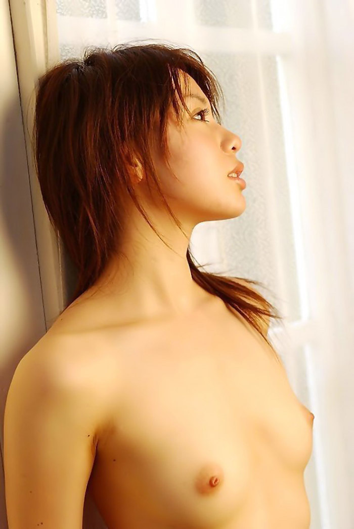 小さな乳房も可愛い乳首も素晴らしい貧乳美少女 (4)