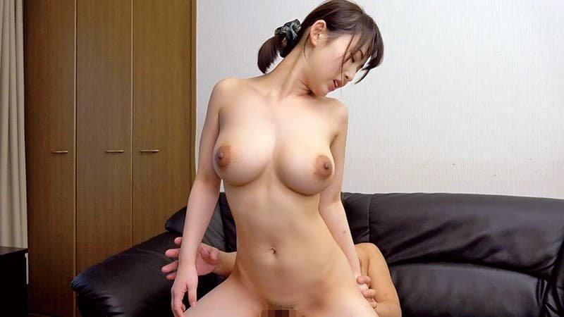 童顔巨乳の美少女が濃厚SEX、柏木もも (19)
