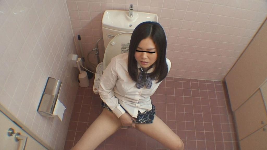 トイレでオナニーを始めちゃった素人さん (13)
